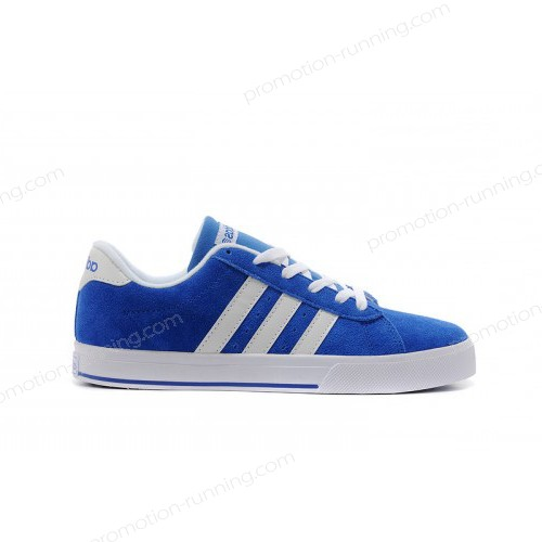 Adidas Neo Se Daily Vulc Suede Shoes Bold Blue/Running White f39081 With Quick Expedition - Adidas Neo Se Daily Vulc Suede Shoes Bold Blue/Running White f39081 With Quick Expedition-01-2