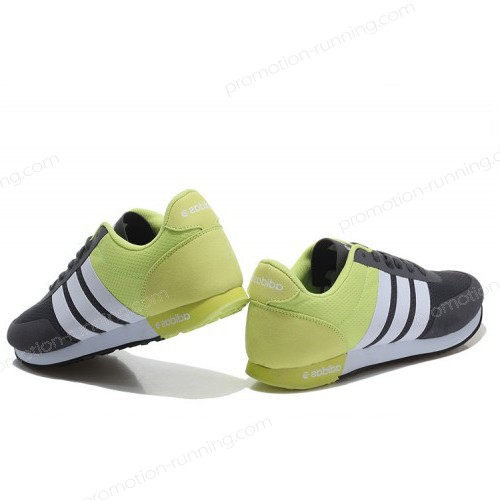 Adidas Neo v Racer Tm Apr Running Shoes Black/White/Fluorescent Green Shoes With Low Price - Adidas Neo v Racer Tm Apr Running Shoes Black/White/Fluorescent Green Shoes With Low Price-01-5