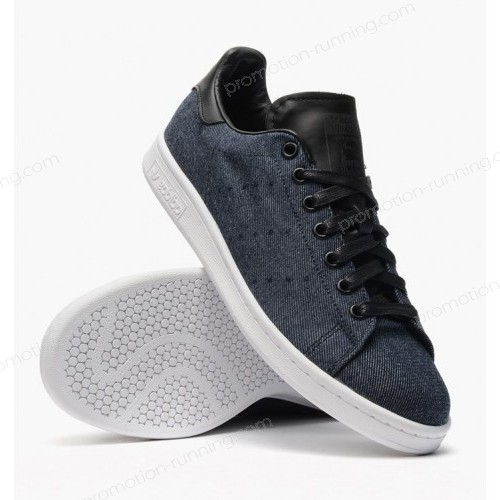 Men's Adidas Originals Stan Smith Navy Blue m17151 Of Good Quality - Men's Adidas Originals Stan Smith Navy Blue m17151 Of Good Quality-01-1