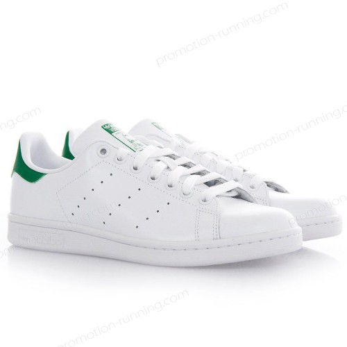 Adidas Originals Stan Smith Running White Ftw/Running White/Fairway With Nice Price - Adidas Originals Stan Smith Running White Ftw/Running White/Fairway With Nice Price-01-1