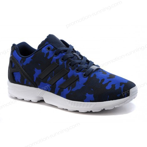 Adidas Originals Zx Flux Men's Black/Cobalt Blue s77304 56% Off - Adidas Originals Zx Flux Men's Black/Cobalt Blue s77304 56% Off-01-0