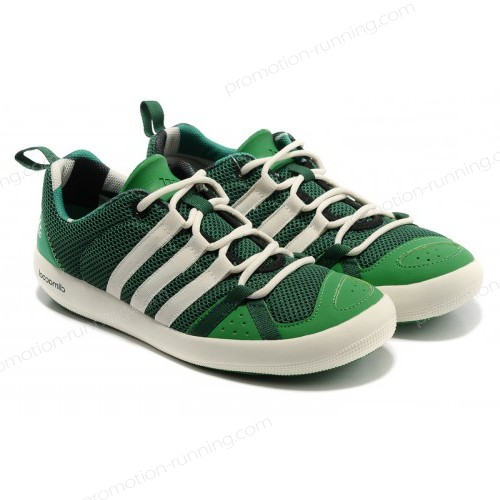 Adidas Outdoor Climacool Boat Lace Oil Green/White g60606 Quick Expedition - Adidas Outdoor Climacool Boat Lace Oil Green/White g60606 Quick Expedition-01-1