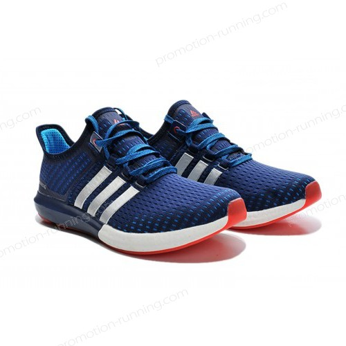 Men's Adidas Running Shoes Climachill Ride Boost Dark Blue/Melon/White s77247 At Reduced Price - Men's Adidas Running Shoes Climachill Ride Boost Dark Blue/Melon/White s77247 At Reduced Price-01-1
