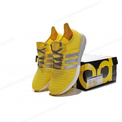 Women's Adidas Running Shoes Climachill Ride Boost Yellow/Silver/Grey s77240 With Half-Price - Women's Adidas Running Shoes Climachill Ride Boost Yellow/Silver/Grey s77240 With Half-Price-01-5