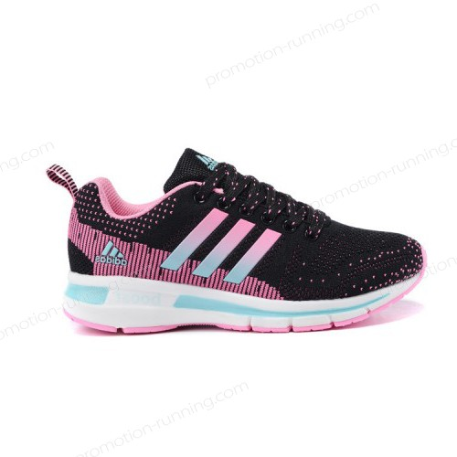 Women's Adidas Running Shoes Questar Flyknit Boost Pink/Core Black/Mint With High Qulity - Women's Adidas Running Shoes Questar Flyknit Boost Pink/Core Black/Mint With High Qulity-01-5