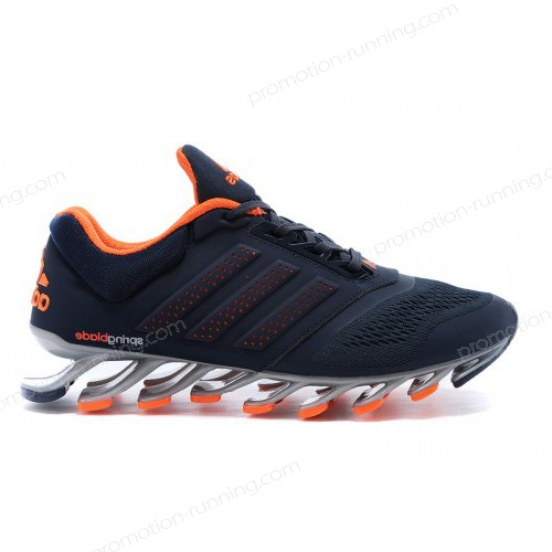Men's Adidas Running Shoes Springblade Drive 2-0 Navy Blue/Orange With a Good Price - Men's Adidas Running Shoes Springblade Drive 2-0 Navy Blue/Orange With a Good Price-01-2