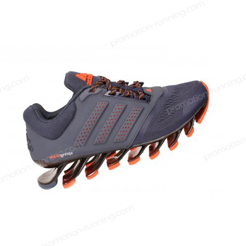 Men's Adidas Running Shoes Springblade 4 Dark Blue/Orange Sell At a Discount 45% - Men's Adidas Running Shoes Springblade 4 Dark Blue/Orange Sell At a Discount 45%-01-0