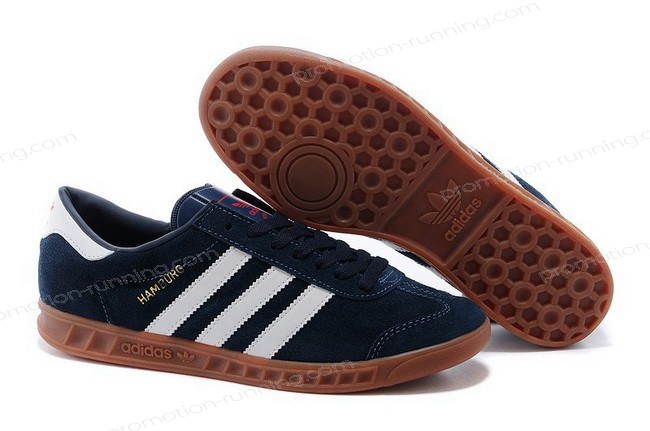 Adidas Hamburg For Men Suede d65192 Navy White Outlet With a Good Price - Adidas Hamburg For Men Suede d65192 Navy White Outlet With a Good Price-01-0