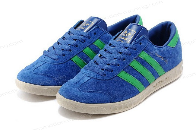 Adidas Hamburg For Men Suede d65198 Blue Green With Nice Price - Adidas Hamburg For Men Suede d65198 Blue Green With Nice Price-01-7
