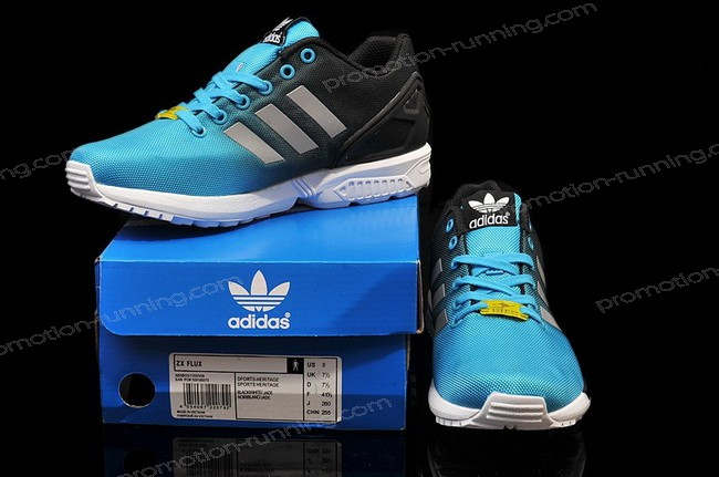 Adidas Originals Zx Flux Reflective Royal Silver Black At Lower Price - Adidas Originals Zx Flux Reflective Royal Silver Black At Lower Price-01-5