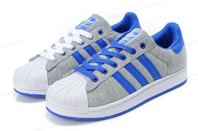 Adidas Superstar 2 g17249 Fabric Grey Blue At a Discount Unpopularity - Adidas Superstar 2 g17249 Fabric Grey Blue At a Discount Unpopularity-01-7
