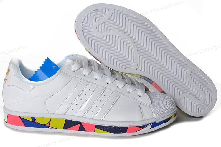 Adidas Superstar 2 g50964 Leather White Multicolor Outlet With High Qulity - Adidas Superstar 2 g50964 Leather White Multicolor Outlet With High Qulity-01-0