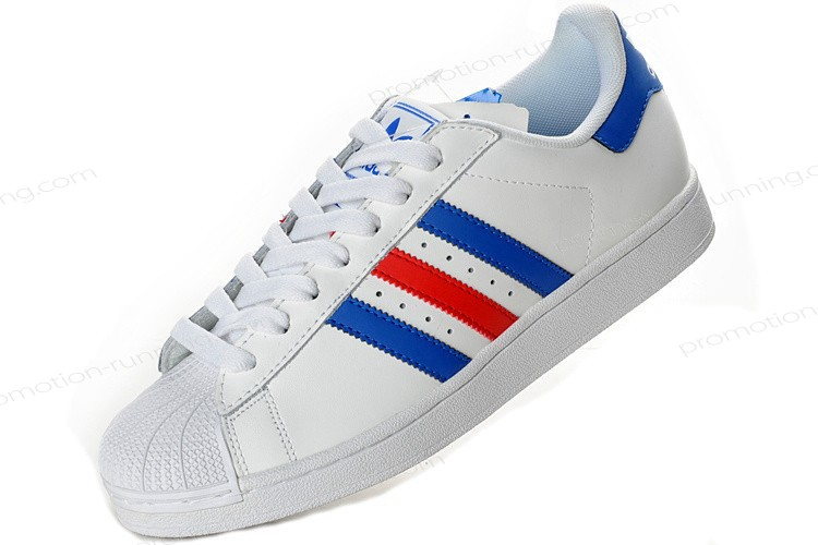 Adidas Superstar 2 g50974 Leather Blue Red White Outlet With Unbeatable Price - Adidas Superstar 2 g50974 Leather Blue Red White Outlet With Unbeatable Price-01-5