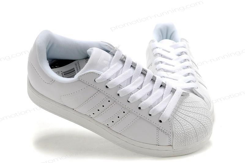 Adidas Superstar 2 Leather 160337 All White Trainers With a Good Price - Adidas Superstar 2 Leather 160337 All White Trainers With a Good Price-01-7