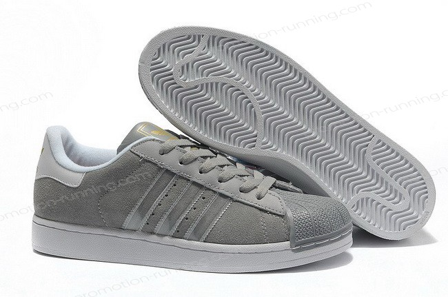 Adidas Superstar 2 Mens Suede g43034 Grey Silver On Sale Quick Expedition - Adidas Superstar 2 Mens Suede g43034 Grey Silver On Sale Quick Expedition-01-0