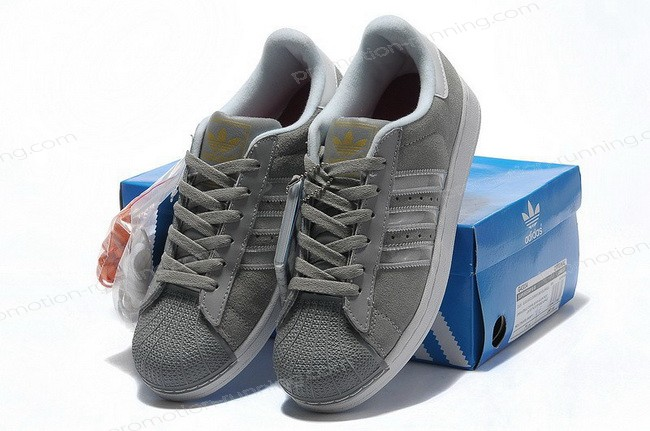 Adidas Superstar 2 Mens Suede g43034 Grey Silver On Sale Quick Expedition - Adidas Superstar 2 Mens Suede g43034 Grey Silver On Sale Quick Expedition-01-7
