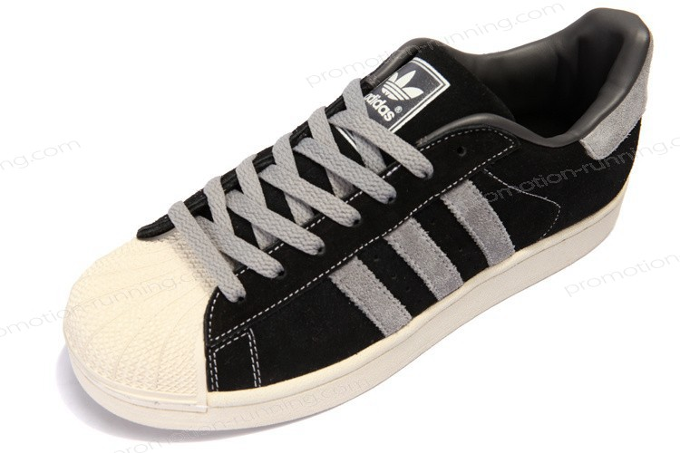 Adidas Superstar 2 Suede 096976 Black Grey With Lower Price - Adidas Superstar 2 Suede 096976 Black Grey With Lower Price-01-1