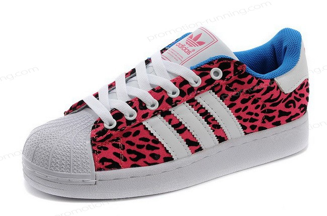 Adidas Superstar 2 Womens Lite Canvas Leopard Red White On Sale - Adidas Superstar 2 Womens Lite Canvas Leopard Red White On Sale-01-6