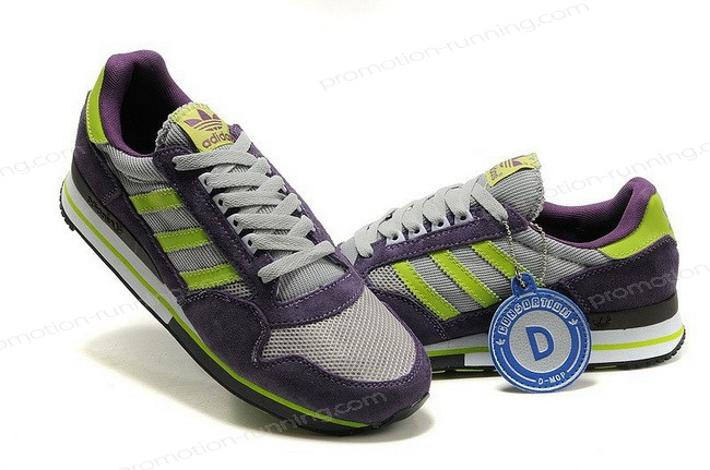 Adidas Zx 500 For Men Purple Grey Green Of Nice Model - Adidas Zx 500 For Men Purple Grey Green Of Nice Model-01-0