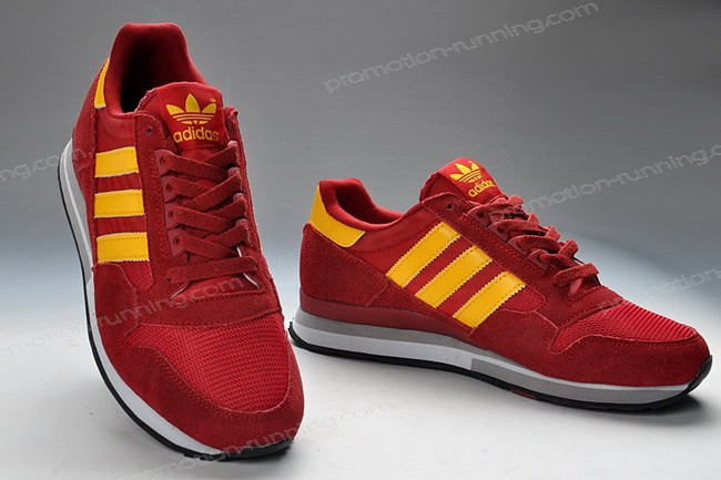 Adidas Zx 500 For Men Suede q33991 Red Yellow With Low Price - Adidas Zx 500 For Men Suede q33991 Red Yellow With Low Price-01-1