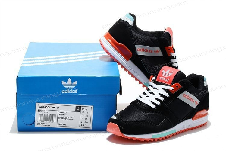 Adidas Zx 700 Contemp For Women m19996 Black Red With Discount Prices - Adidas Zx 700 Contemp For Women m19996 Black Red With Discount Prices-01-2
