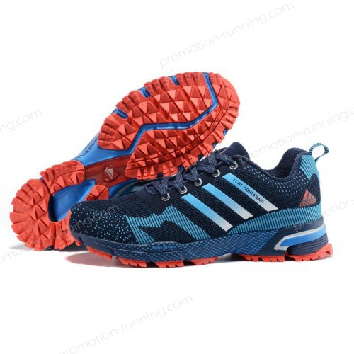 Men's Adidas Marathon Tr 13 Navy/Blue/Crimson v21831 Best Price Guaranteed - Men's Adidas Marathon Tr 13 Navy/Blue/Crimson v21831 Best Price Guaranteed-31