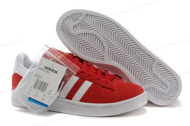 Adidas Campus 80s Suede Red White At a Discount Unpopularity - Adidas Campus 80s Suede Red White At a Discount Unpopularity-31