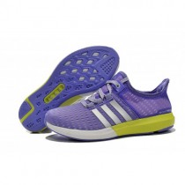 Women's Adidas Running Shoes Climachill Ride Boost Light Purple/Volt-Silver  s77248 On With Quick Delivery