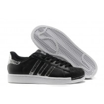 Adidas Superstar 2 Leather g62846 Snake Black Silver Quick Delivery-20
