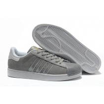 Adidas Superstar 2 Mens Suede g43034 Grey Silver On Sale Quick Expedition-20