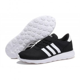 Adidas Neo Lite Racer Shoes Core Black/Running White f97999 Shoes On Discount