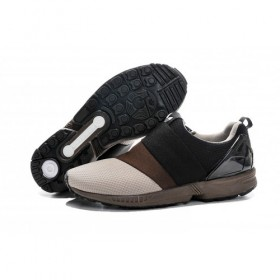 Adidas Originals Zx Flux Men's Slip-On Coffee/Core Black/Beige With Reduced Price