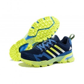 Adidas Marathon Tr 13 Men's Navy/Bold Blue/Fluorescent v21833 At a Discount