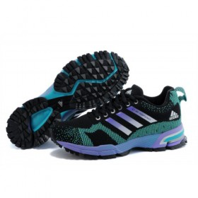 Adidas Marathon Tr 13 Women's Black/Lake Blue/Purple v21840 Sales Up 58%