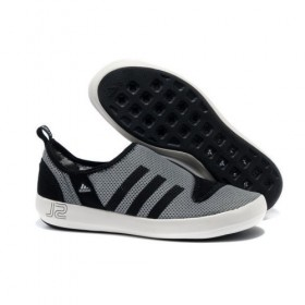 Adidas Outdoor Climacool Boat Sl Unisex Metallic Grey/Black With Nice Model