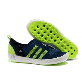 Adidas Outdoor Climacool Boat Sl Unisex Navy/Fluorescent Green With Half-Price