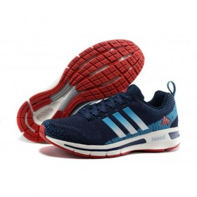 Adidas Running Shoes Questar Flyknit Boost Navy/Lake Blue/White Best Price Guaranteed