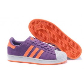 Adidas Superstar 2 g43722 Suede Purple Orange At a Discount Unpopularity