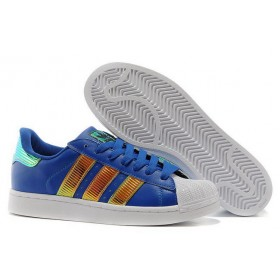 Adidas Superstar Bling Xl d65614 Blue Gold Shoes With The Best Price