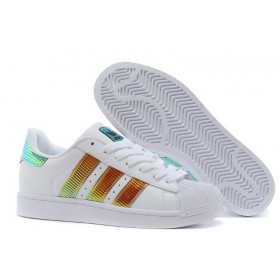 Adidas Superstar Bling Xl d65615 White Brown Royal With Discount Prices