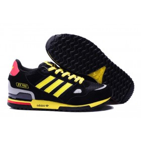 Adidas Zx 750 For Men 621001 Black Yellow 60% Off Sale